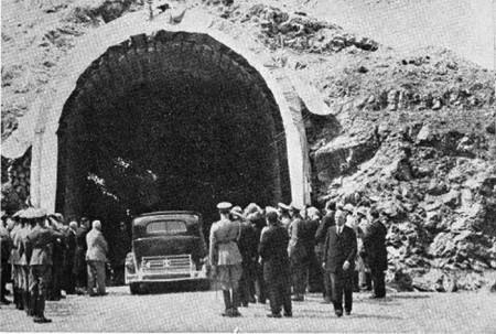 تونل,نقشه برداری زیرزمینی,تونل کندوان