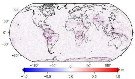 اختلاف ارتفاع ژئوئید,goce,EGM2008