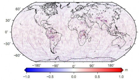 grace,EGM2008,اختلاف ارتفاع ژئوئید