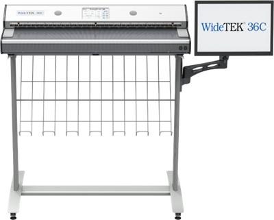 کیفیت برتر فنّاوری CCD در اسکنر نقشه WideTEK 36