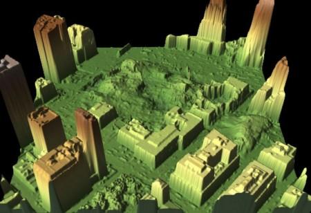 تصاویر حاصل از داده های LIDAR ,Courtesy of NRSC