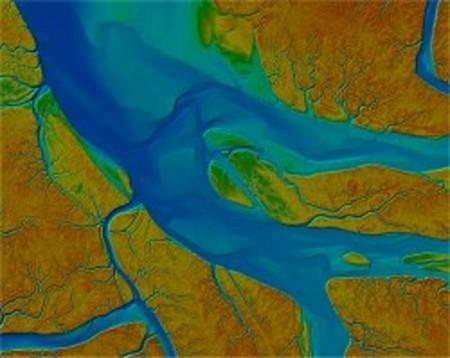 مدل ارتفاعی رقومی , مروری بر کاربردهای LiDAR در مهندسی ژئوماتیک ,© Aerodata International Surveys, Belgium, TopoSys GmbH