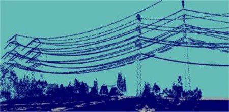 نمای 3بعدی توده نقاط جمع آوری شده در محدوده خطوط انتقال برق, مروری بر کاربردهای LiDAR در مهندسی ژئوماتیک